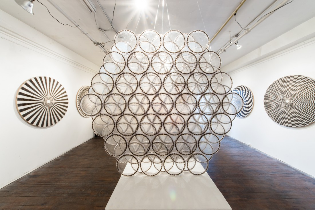 Bee Works Installation, Montreal 2015